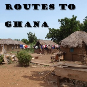 Routes to Ghana